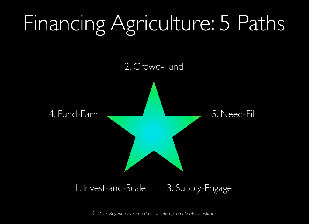 Agriculture Financing Paths