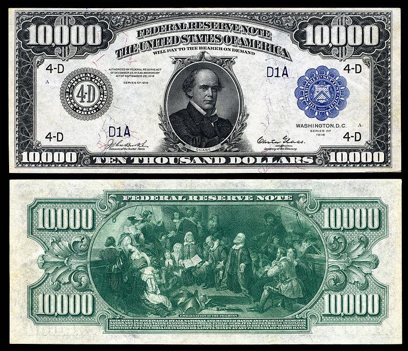 $10,000 Bill