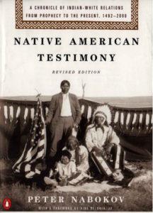 Native American Testimony