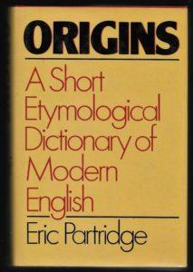 Origins Etymological Dictionary