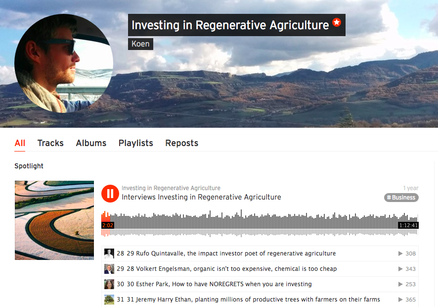 Investing in Regenerative Agriculture Podcast