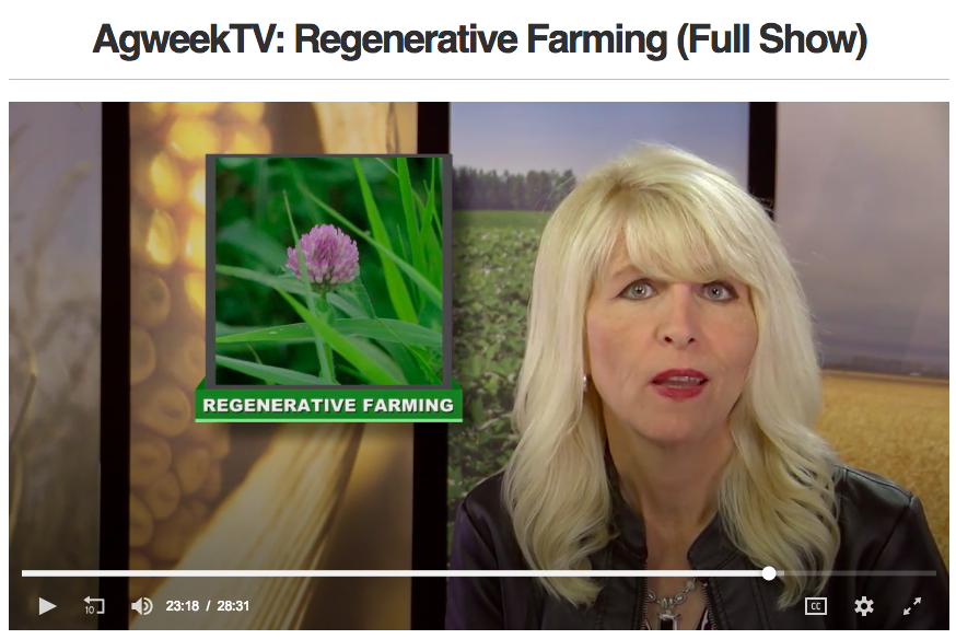 Regenerative Farming on AgWeek TV