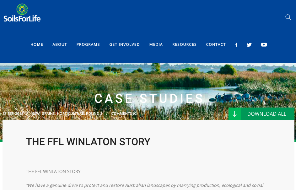 Regenerative Agriculture Case Study - Regeneration Newsroom